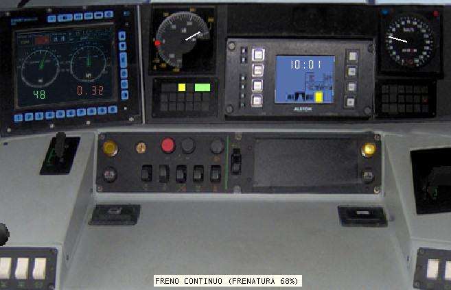 train patch per la cabina della carrozza On disponibilità della cabina patc